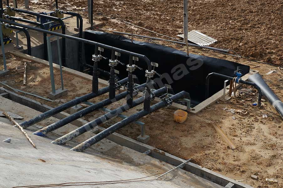 PE Pipe Installation